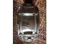 Vintage 1960's Gretsch (round badge) 4160 snare drum.
