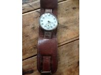 J W Benson Of London Wrist Watch