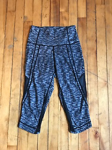 Lululemon cropped leggings - size 4