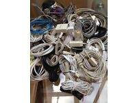 Job Lot of Computer and Phone Cables
