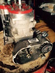 Snowmobile engine