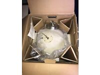 Limited edition habitat Buzz Aldrin Moon ceiling light - never used and still in original packaging
