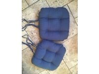 DINING OR KITCHEN CHAIR SEAT PADS