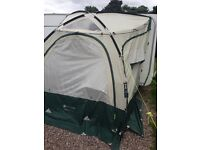 Porch awning, ex condition, Rhyl collection includes flooring