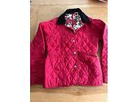 Girls Barbour jacket aged 12-13