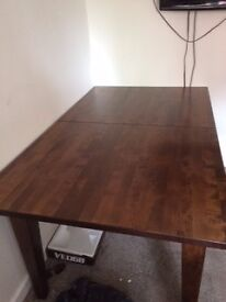 BEAUTIFUL LAURA ASHLEY EXTENDING DINING TABLE - STILL IN THEIR STORE AND ON LINE FOR £980.