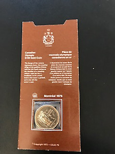 Canadian Olympic 100 Dollar  Coin