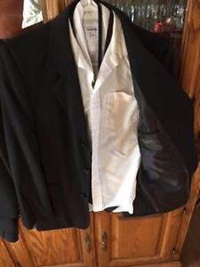 2 boys dress suits, vest, shirt, ties and belts London Ontario image 4