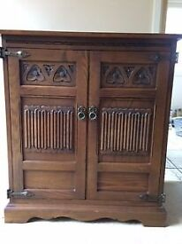 Wood Bros. Old Charm Oak Cabinet