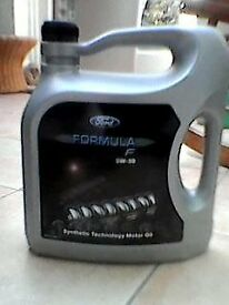 5w30 Ford Fully Synthetic Engine Oil 5 litres Formula F