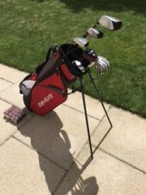 Perfect Condition Top Flite Full Set Golf Clubs and Bag For Sale with 12 Callaway Golf Balls