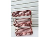GENUINE 1960'S VEGETABLE RACK- GREAT CONDITION- REMOVABLE SHELVES