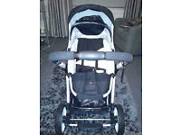 Jette buggy with rain cover