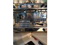 Brasilia Barista double head professional coffee machine