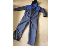 Overalls. Mens quilted workshop overalls never worn brand new.