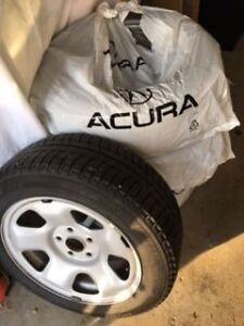 Four - 225 55R17 Michelin Ice X Winter tires for sale