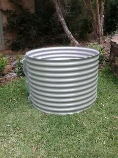 Raised Garden Beds Colorbond Curved Corrugated Steel