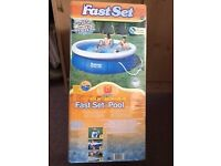 """Bestway Fastset 10' x 30"""" Inflatable Swimming Pool"""