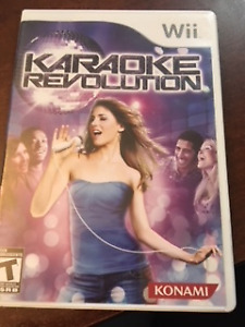 Wii Karaoke with microphone