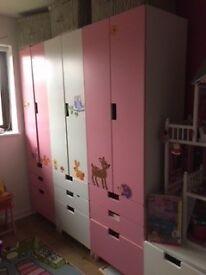 Stuva Ikea wardrobe
