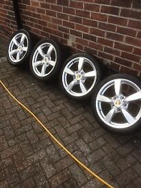 Porsche 18 inch alloy wheels