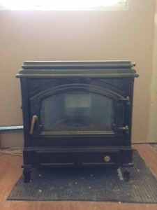 slow burning oil fired stove
