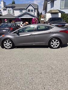 2013 Hyundai Elantra limited edition Sedan