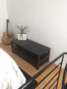 TV Stand with two shelves and two drawers