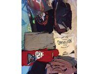 Bundle of boys clothes age 11