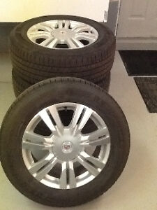 Cadillac rims and winter tires