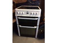 Beko White Electric Cooker