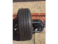 Citreon C4 wheel, tyre and toolkit