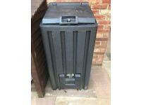 Ulster Coal Bunker 5 Bag, 250 kg storage, slim and compact