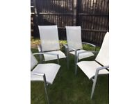 4 x reclining garden chairs £15 the lot collect so45 area