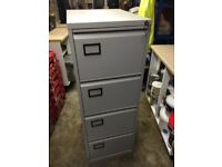 Filing cabinet, 4 draws and lockable