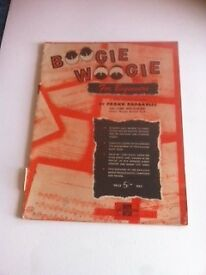 Vintage music instruction book - Boogie Woogie for Beginners