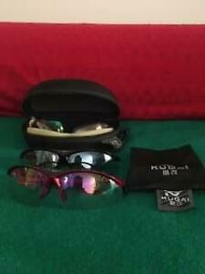 Cycling glasses polarised