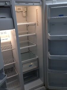 Frigidaire Fridge Freezer side by side