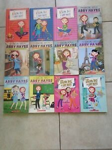 ABBY HAYES Chapter Books (12-Book Set) for Sale