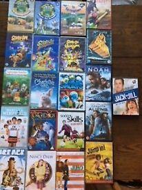 21 Children's DVD's for sale