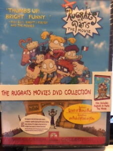 new the Rugrats movies dvd collection