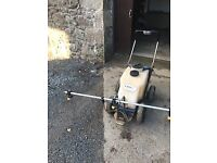 Farmura pedestrian Turf sprayer 30 lts