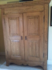 Beautiful Provincial Amoire (Size of a double wardobe) excellent condition. £300