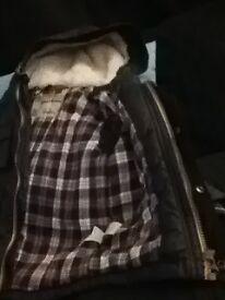 NEXT Boys winter waterproof coat, in ex-conditon, size 1- 1/2-2 years