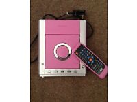 CD Player Pink