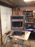 Barely used Pellet Stove to swap for bike or snowmobile
