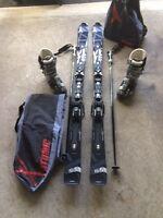 Ensemble de ski alpin Atomic complet