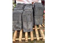 APPROX TWO HUNDRED RECLAIMED SLATES 24 X 12