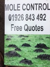 Mole control for Warwickshire and surrounding areas