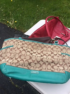 Gently Used Coach Handbags